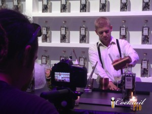 Service de cocktails vodka