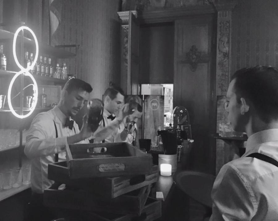 Bar à cocktails GQ