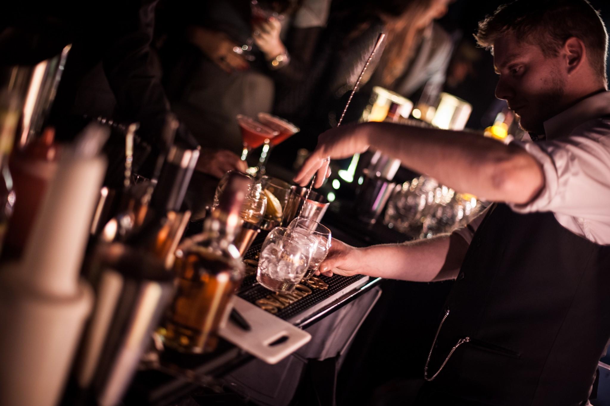Cocktails Mixologie