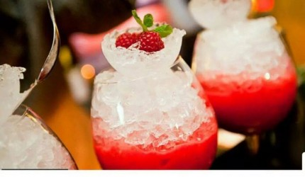 cocktail framboise