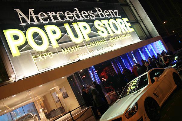 Mercedes-Benz Popup Store