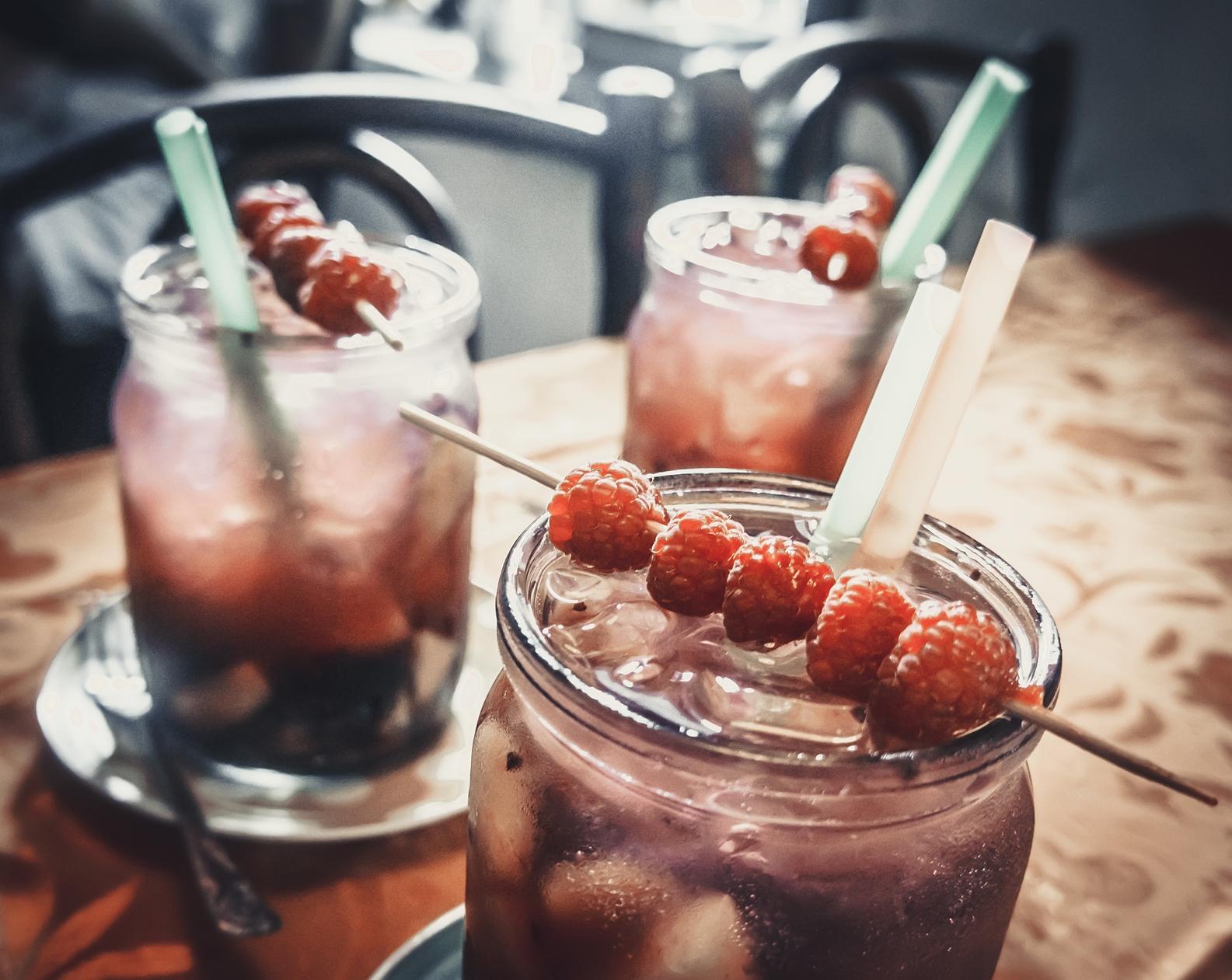 cocktail framboises