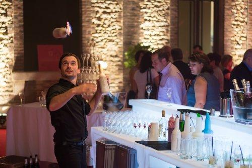 animation cocktail shows barman jongleur